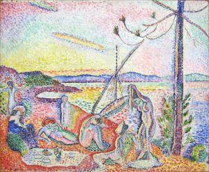 Matisse har latt seg inspirere av Baudelaire og malt et ultimat feriemotiv.