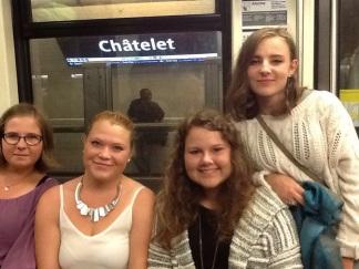 På metroen i Paris